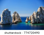 aerial view of el arco  at land'... | Shutterstock . vector #774720490
