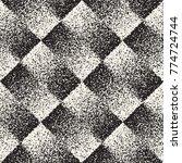 abstract noisy textured... | Shutterstock .eps vector #774724744