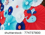 place for photos made of many... | Shutterstock . vector #774737800