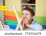 cute toddler boy having... | Shutterstock . vector #774741679