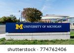 ann arbor  mi usa   october 20  ... | Shutterstock . vector #774762406
