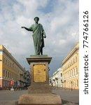 odessa   may 9  2009. duke de... | Shutterstock . vector #774766126