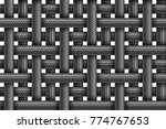 vector seamless realistic... | Shutterstock .eps vector #774767653