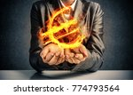 close up of businessman in suit ... | Shutterstock . vector #774793564