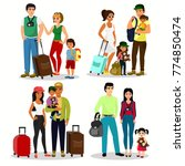 vector illustration set of... | Shutterstock .eps vector #774850474