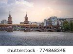 berlin. the double deck...   Shutterstock . vector #774868348