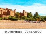 ait benhaddou  morocco   may 11 ... | Shutterstock . vector #774873970