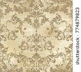 vector illustration. damask... | Shutterstock .eps vector #774879823
