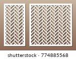 set geometric ornament template....   Shutterstock .eps vector #774885568