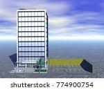 high rise building 3d rendering | Shutterstock . vector #774900754