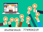 group of business people with...   Shutterstock .eps vector #774904219