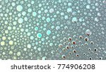 macro shot foam bubble from... | Shutterstock . vector #774906208