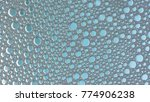 macro shot foam bubble from... | Shutterstock . vector #774906238