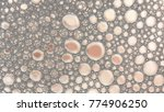 macro shot foam bubble from... | Shutterstock . vector #774906250