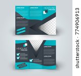 tri fold brochure design.... | Shutterstock .eps vector #774906913
