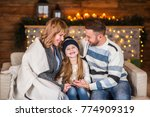 family of mother  father and... | Shutterstock . vector #774909319