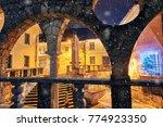 plecnik's staircase  arcade and ... | Shutterstock . vector #774923350