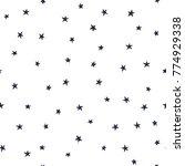 stars on the sky. christmas... | Shutterstock .eps vector #774929338
