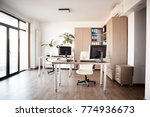 large angle view. interior of... | Shutterstock . vector #774936673