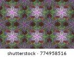 invitation card. raster vintage ...   Shutterstock . vector #774958516