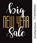 sale banner background for new... | Shutterstock .eps vector #774959044