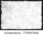 grunge frame.distress... | Shutterstock .eps vector #774967660