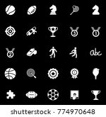 game icons set | Shutterstock .eps vector #774970648