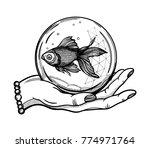 Traditional Tattoo Flash Hand...