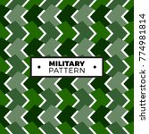 texture military camouflage...   Shutterstock .eps vector #774981814