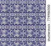 traditional etnic pattern in...   Shutterstock .eps vector #774986500