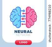 neural networks human brain... | Shutterstock .eps vector #774988210