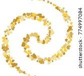 vector confetti background...   Shutterstock .eps vector #774997084