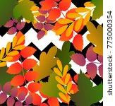 beautiful geometric flowers...   Shutterstock .eps vector #775000354