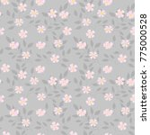 seamless floral pattern....   Shutterstock .eps vector #775000528