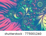 colorful background with... | Shutterstock . vector #775001260