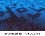 3d illustration of a concept...   Shutterstock . vector #775002796