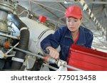 Engineer Maintaining A...