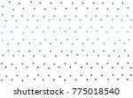 dark blue vector abstract... | Shutterstock .eps vector #775018540