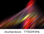 abstract christmas tree ... | Shutterstock . vector #775039396