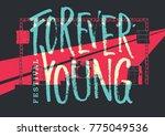 music event design concept.... | Shutterstock .eps vector #775049536
