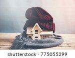 house energy efficiency concept | Shutterstock . vector #775055299