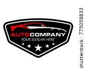 auto car logo | Shutterstock .eps vector #775058833
