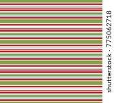 horizontal holiday stripes. eps ... | Shutterstock .eps vector #775062718