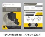 flat ux ui template design in...