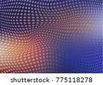 colorful halphtone background | Shutterstock .eps vector #775118278