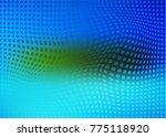 colorful halphtone background  | Shutterstock .eps vector #775118920