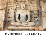 Small photo of The Gal Vihara or Gal Viharaya and originally the Uttararama is a rock temple of the Buddha situated in the ancient city of Polonnaruwa in Sri Lanka.