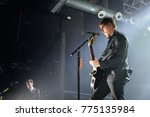 Small photo of BARCELONA - SEP 8: Interpol (rock band from New York) perform in concert at Razzmatazz stage on September 8, 2017 in Barcelona, Spain.