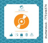 cd  dvd symbol icon | Shutterstock .eps vector #775146574