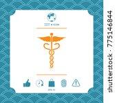 caduceus medical symbol | Shutterstock .eps vector #775146844